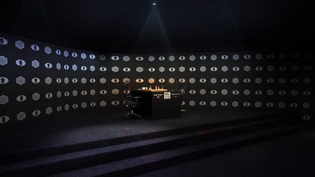 Skisse av spillestedet. Foto: Agon