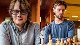 Frode Urkedal og Nicolai Getz har vært i aksjon i Italia. Foto: Rolf Haug (www.haugsbilsalg.no)