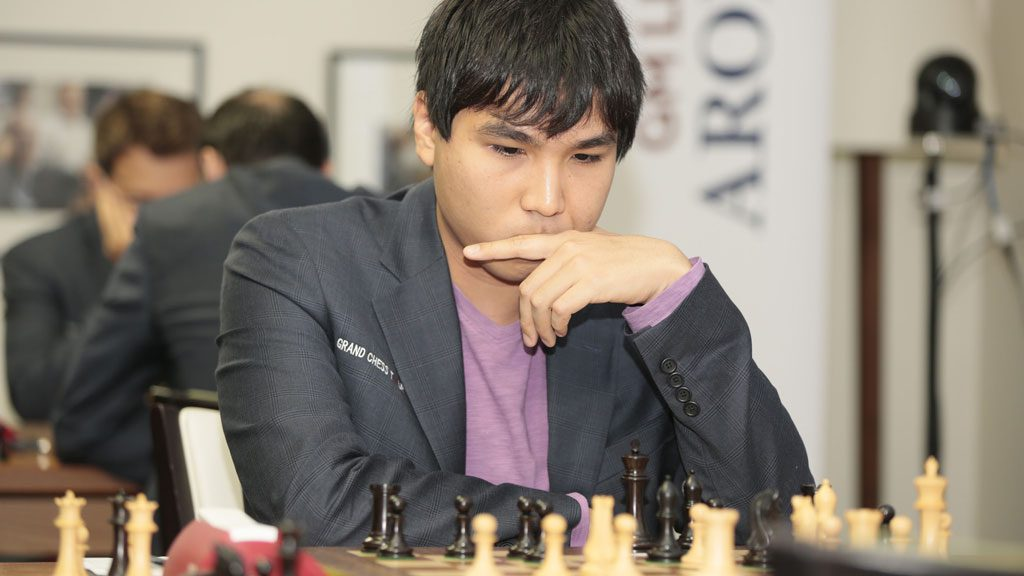 Wesley So i siste runde. Foto: Spectrum Studio/Grand Chess Tour