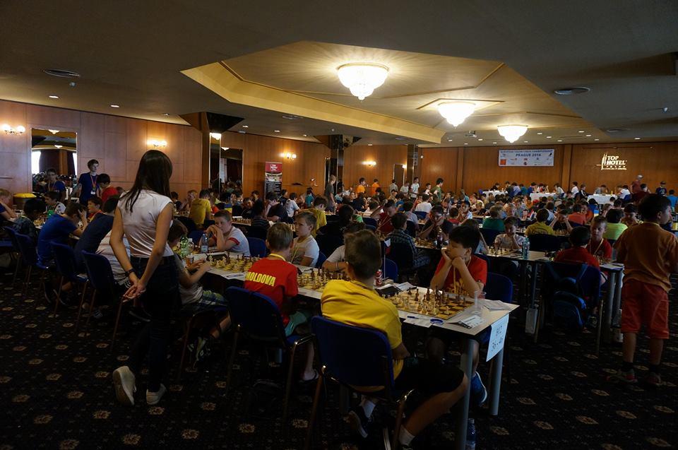 Fra Europamesterskapet i Praha. Foto: Anniken Vestby/SjakkTromsø