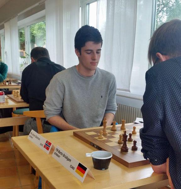 Johan Salomon i Manhem i dag. Foto: Sören Svensson