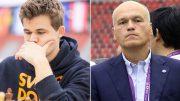 Magnus Carlsen var ingen fan av forslaget til Andrei Filatov. Foto: David Llada/Eteri Kublashvili