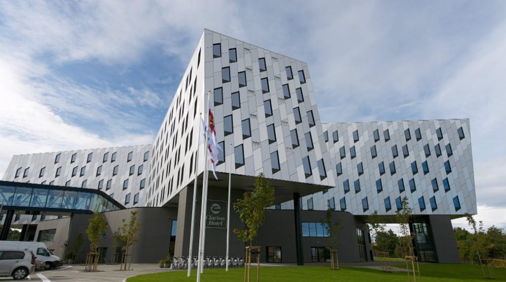 Spillestedet for neste års Landsturnering: Clarion Energy Hotel i Stavanger
