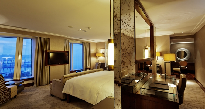 Hilton Hotell i Baku.