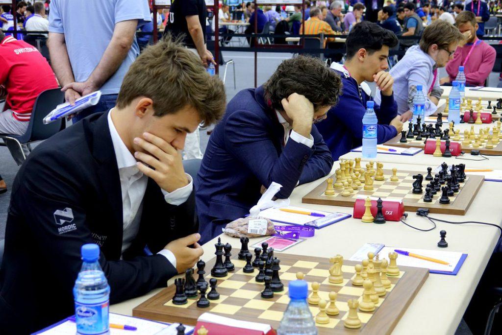 Det unge norske laget har fortsatt gode sjanse til en topplassering. Foto: Paul Truong