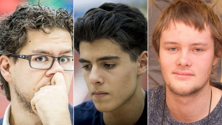 Jon Ludvig Hammer, Aryan Tari og Frode Urkedal skal alle kjempe om NM-tittelen i Stavanger i 2017. Foto: David Llada/Tarjei J. Svensen