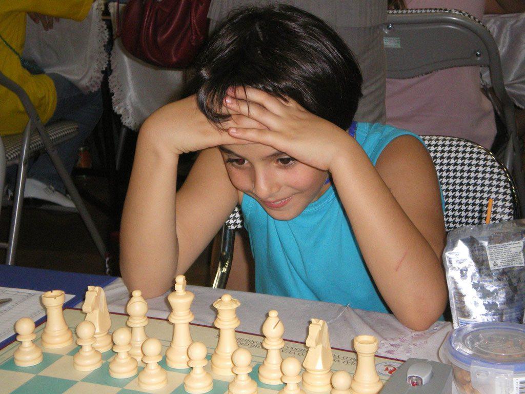 Aryan Tari i Vietnam under VM under 10 år. Foto: Kjetil Stokke