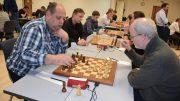 Tromsø Sjakklubb i Eliteserien forrige sesong. Foto: Tarjei J. Svensen