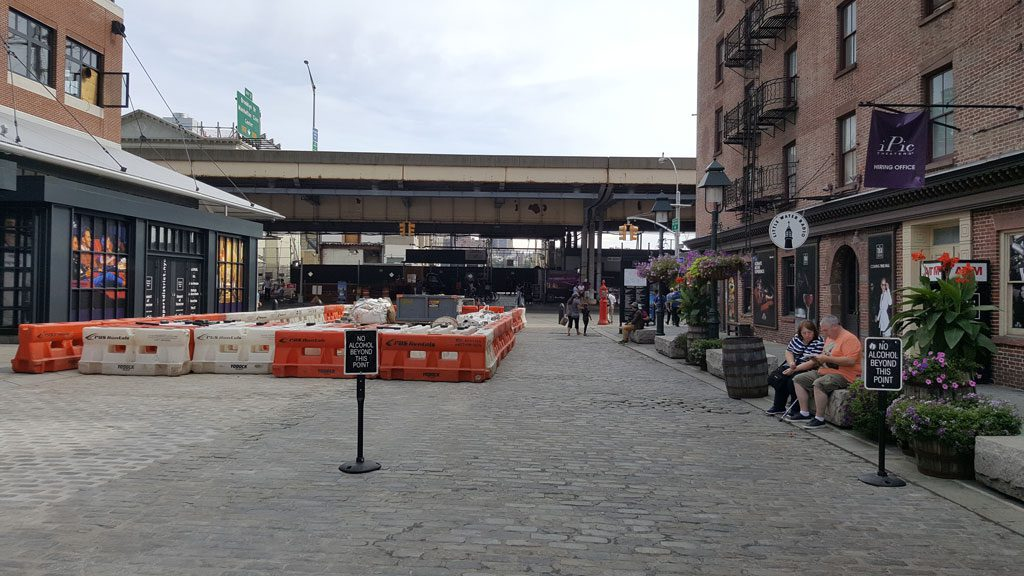 Fra Fulton Market ved South Street Seaport i New York. Foto: mattogpatt.no