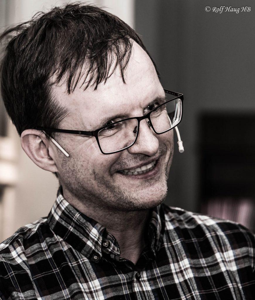Rune Djurhuus. Foto: Rolf Haug/mattogpatt.no