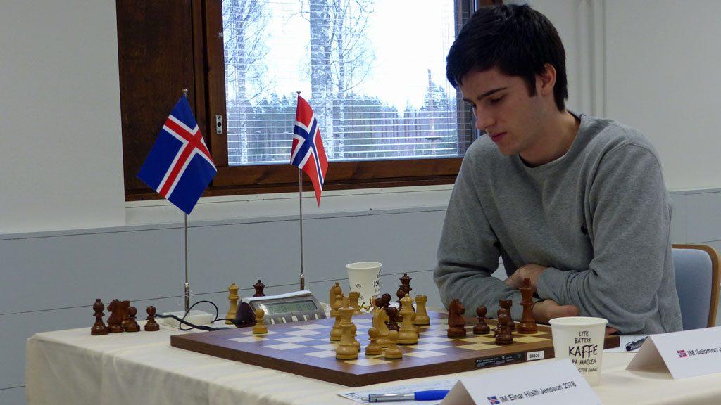 Johan Salomon med svak innsats i Finland. Foto: Toivo Pudas