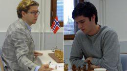 Jon Ludvig Hammer og Johan Salomon neppe fornøyd med innsatsen i Finland. Foto: Toivo Pudas