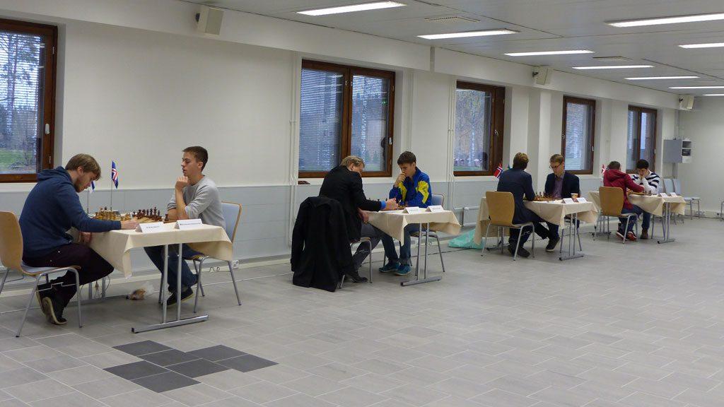 Fra 1. runde i Finland. Foto: Toivo Pudas