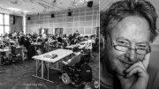 Pål Nordquelle er godt fornøyd med Oslo Chess Festival i år, men lover at neste år blir enda bedre. Foto: Rolf Haug (www.haugsbilsalg.no)