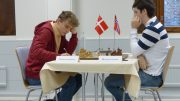 Johan Salomon tapte for Martin Percivaldi i 1. runde. Foto: Toivo Pudas