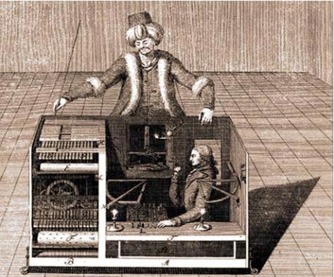 Wolfgang von Kempelens sjakkrobot som satte Napoleon sjakk matt