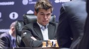 Magnus admitted it wasn't pretty, but give him enough chances to grind, sooner or later you get ground. Carlsen evens up the match in game 10. Photo: Maria Emelianova