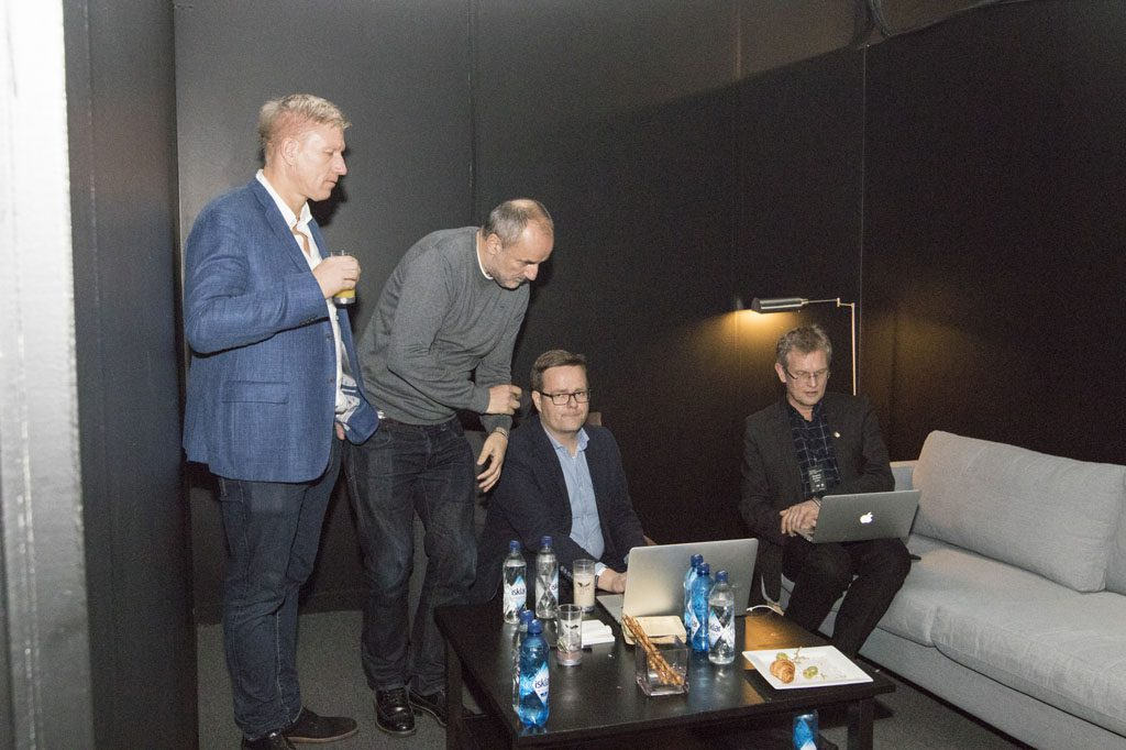 Team Carlsen during the game. Photo: Maria Emelianova