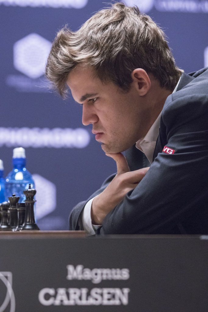 Magnus Carlsen. Photo: Maria Emelianova