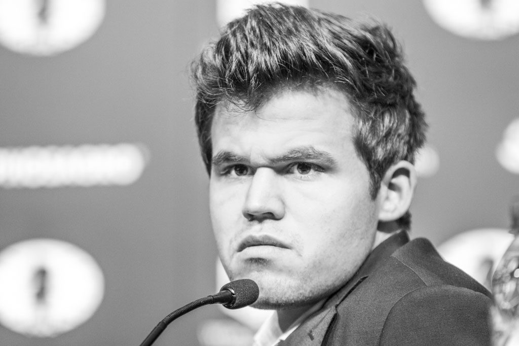 Can Magnus Carlsen strike back to level the match? Photo: Maria Emelianova