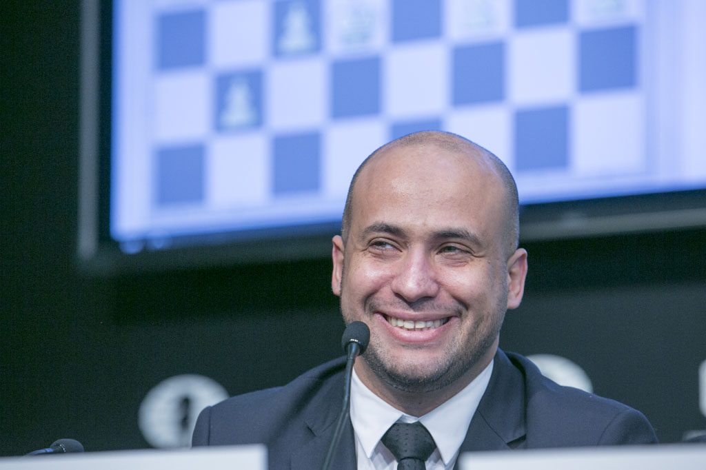 Agon CEO Ilya Merenzon in a good mood. Photo: Maria Emelianova