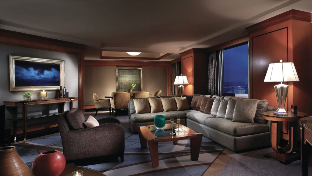 Here's how a suite in Ritz Carlton Battery Suite looks like. Photo: Ritz Carlton
