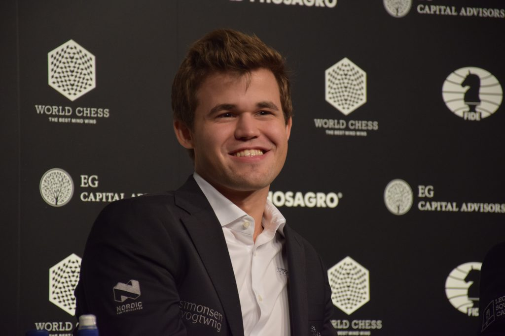 Magnus Carlsen - World Champion 2016. Photo: Yerazik Khachatourian