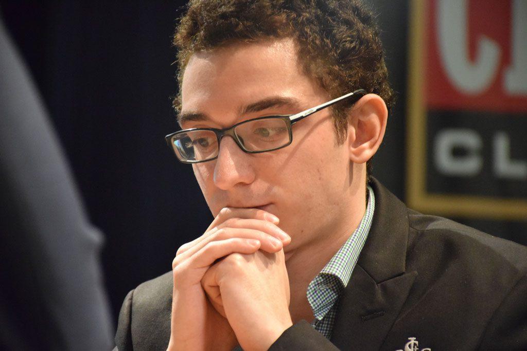 Fabiano Caruana. Photo: Yerazik Khachatourian