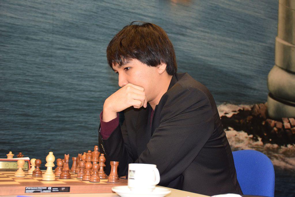 Wesley So i 13. runde i Tata Steel Chess. Foto: Tarjei J. Svensen