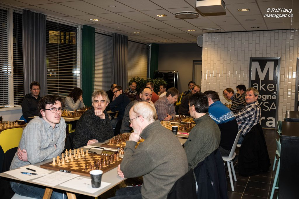 Fra matchen mellom Asker og SK 96. Foto: Rolf Haug/mattogpatt.no