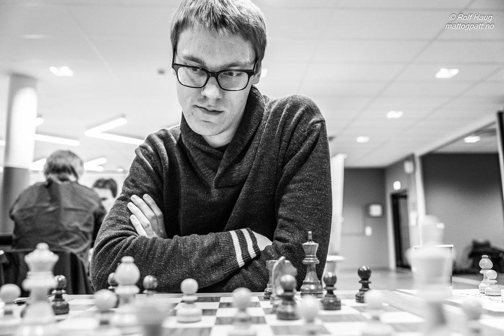 Svenske Erik Blomqvist spiller for Nordstrand i den norske Eliteserien. Foto: Rolf Haug/mattogpatt.no