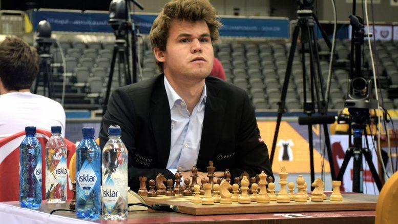 Magnus Carlsen på toppen av tre ratinglister. Foto: Yerazik Khachatourian