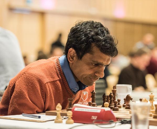 Krishnan Sasikiran. Foto: Lars OA Hedlund