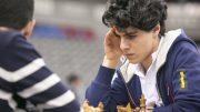 Aryan Tari, her under VM i lyn- og hurtigsjakk i Qatar.. Foto: Maria Emelianova