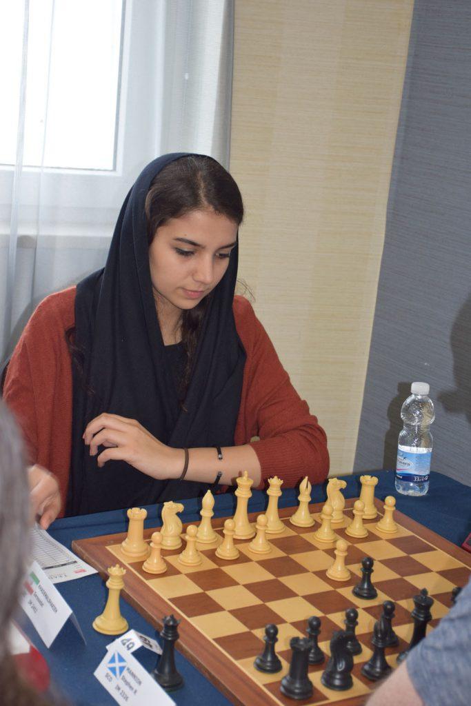 Irans håp Sara Khadem har flere ganger vært i Norge. Foto: Tarjei J. Svensen