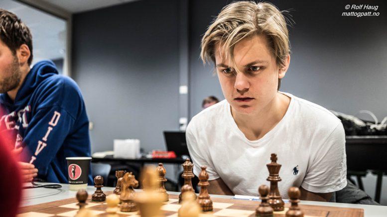 Lars Oskar Hauge, her fra Eliteserien tidligere i år. Foto: Rolf Haug/mattogpatt.no