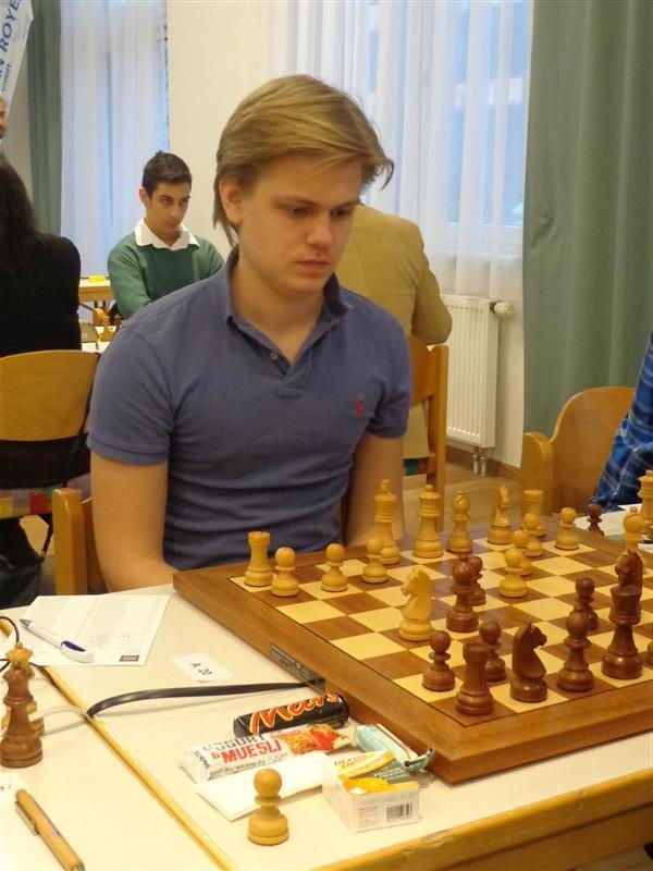 Lars Oskar Hauge i Graz. Foto: Arild Rimestad