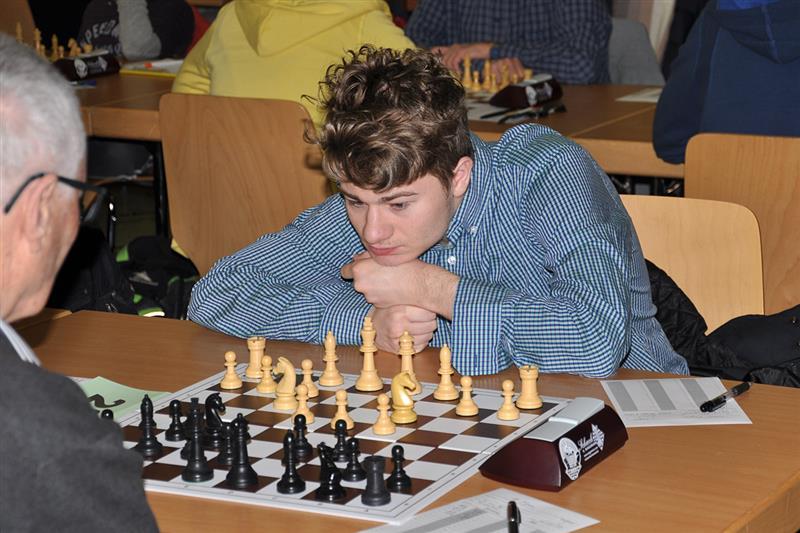 Sebastian Mihajlov er en av 15 nordmenn som spiller i Østerrike. Foto: Dolomitenbank Open