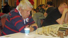 Gunnar Bue i Fagernes Chess International i 2013. Foto: Øystein Brekke