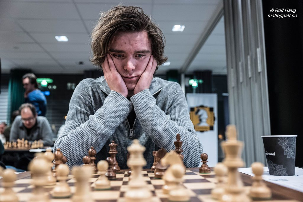 Benjamin Arvola, her fra spill for Tromsø i Eliteserien. Foto: Rolf Haug/mattogpatt.no