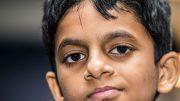 SUPERTALENT: Nihal Sarin (12) fra India kan være en kommende verdensstjerne. Foto: Rolf Haug/mattogpatt.no