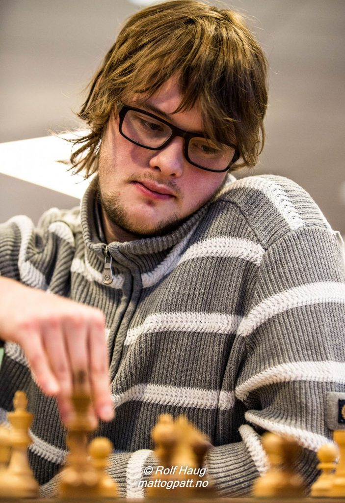 NORSK HÅP: Frode Urkedal (23) spiller for turneringsseier. Foto: Rolf Haug/mattogpatt.no