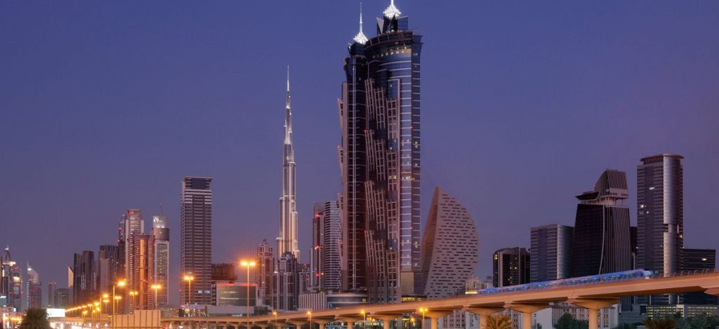 LUKSUS: JW Marriot Hotell i Dubai. Foto: marriott.com