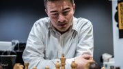 IM? Sebastian Mihajlov med god start i Budapest. Foto: Rolf Haug/mattogpatt.no