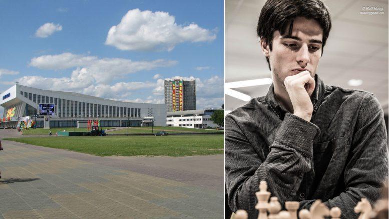 HVITERUSSLAND: Johan Salomon (20) fikk med nød og neppe visum til EM individuelt i Minsk. Foto: Chris Price (CC BY-ND 2.0)/Rolf Haug/mattogpatt.no