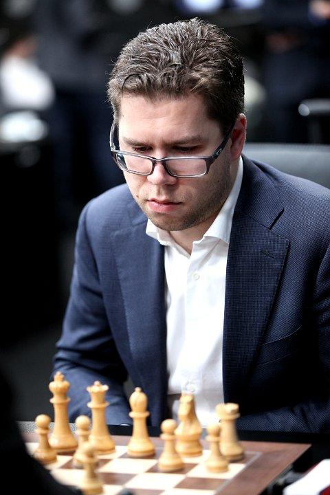 REMISERTE: Jon Ludvig Hammer med ny remis i sjette runde av Moskva. Foto: Anastasiya Karlovich/FIDE