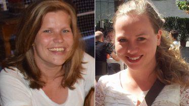 Ida Landsverk og Ellisiv Reppen er de nye sjakkbloggerne. Foto: Tarjei J. Svensen