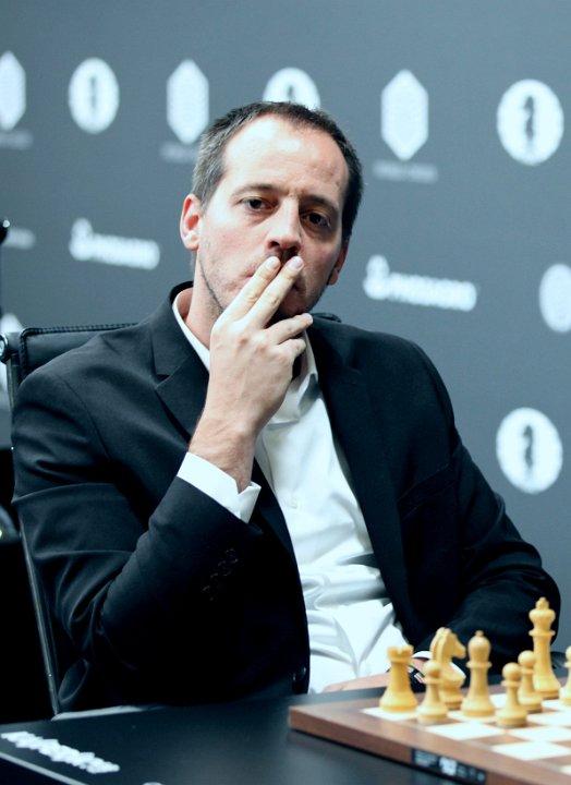 MOTSTANDER: Francisco Vallejo Pons fra Spania er Hammers neste motstander i Moskva. Foto: Anastasiya Karlovich/FIDE