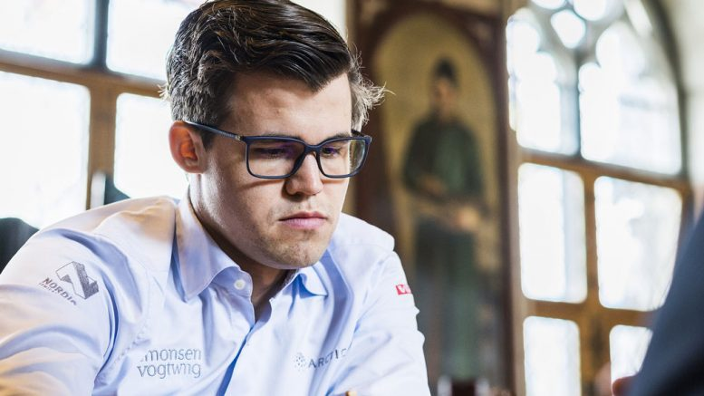 SPURT? Magnus Carlsen må levere sjakk på øverste hylle om han skal vinne i Leuven. Foto: Lennart Ootes