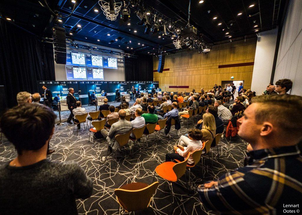 FULLT: Clarion Energy Hotell har vært fullt denne helgen i forbindelse med en åpen turnering. Foto: Lennart Ootes
